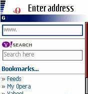 Opera Mini 3.01