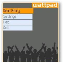 e book reader -WATTPAD