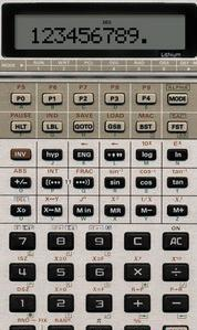 Scientific Calculator Casio FX-602P for