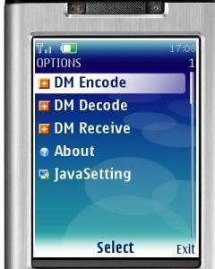 DM 2D Bar Code