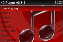 KD Player 0.8.9 With zen creative skin