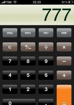 Scientific calculator(touch)