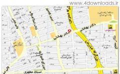 tehran map 89