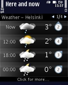 Here and now Entertainment, weather