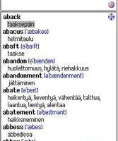 English-Finnish Dictionary