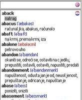 English-Croatian Dictionary