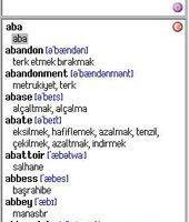 English-Turkish Dictionary