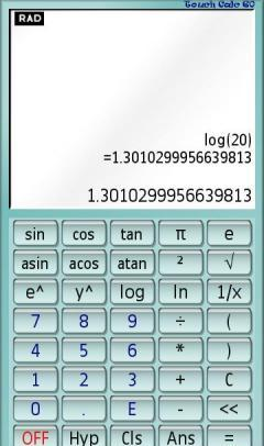 TOUCH CALC S60