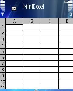 Mini Excel