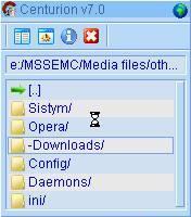Centurion 7.1 file manager