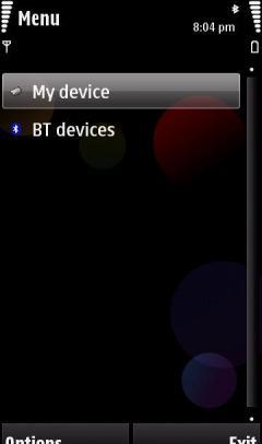 BT FILE MANAGER(BLUETOOTH FILE MANAGER)