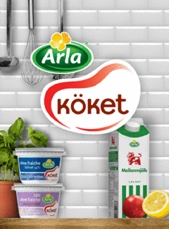 Arla cookbook (SWEDISH)