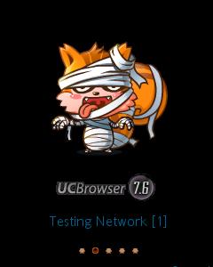 UC Browser 7.6 touchscreen 240x400