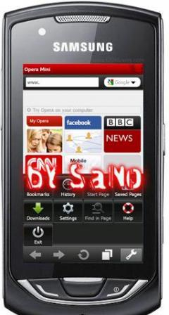opera mini 5.1 for samsung s3310