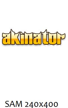 Akinator REAL FULLSCREEN 240x400 TOUCH