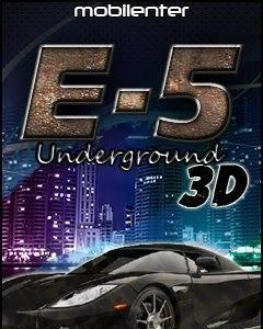 E 5 underground 3d