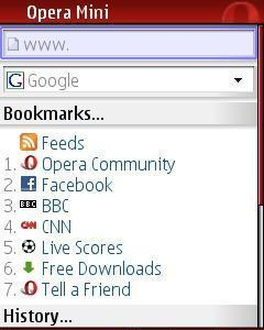 Free Download opera mini4 1 for Java - App
