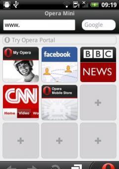 Opera mobile 6.0