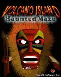 Volcano island haunted maze 3d