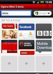 opera mini 6 black edition
