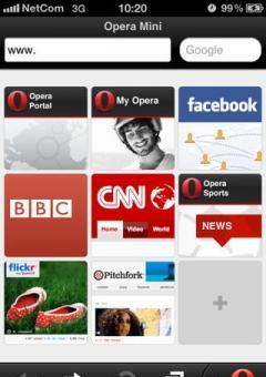 Opera 6.1 Multiscreen