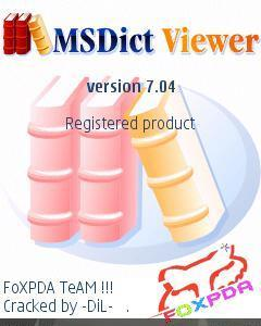 Ms Dict Viewer