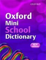 Oxford Thesaurus Dictionary