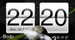 Meteor Clock for bada