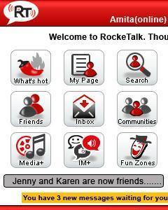 RockeTalk - Micromax Java