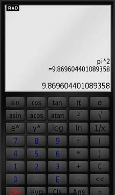 Touchscreen Calculator