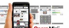 Opera Mini 6.5 (Fullscreen)
