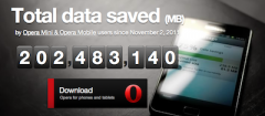 Opera Mini 4.4 (Fullscreen)