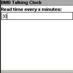 BMD Talking Clock