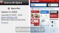 opera mini nokia c3 minimizable