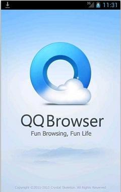 QQ Browser 240x400
