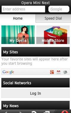 Opera Mini Next HD