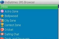 IndiaTimes Sms Browser v3.6