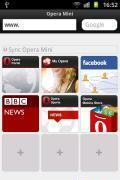 Opera Mini Full screen (S5620)