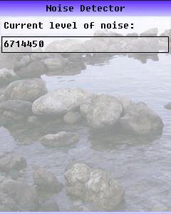 Noise Detector