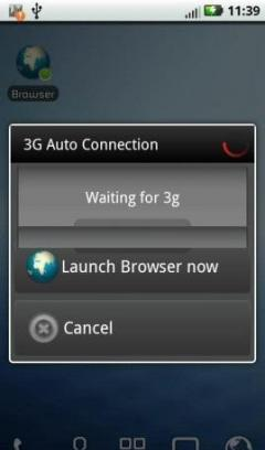 3G Auto Connection Software