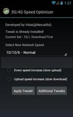 3G & 4G Speed Optimizer Software