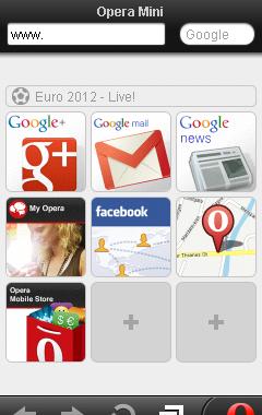 Opera mini 6.1 Fullscreen (Ger/DE)