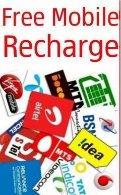Free Recharge By Sending Free SMS