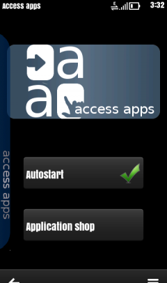 acess apps for synbian 3 and 5