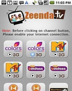 Live Tv Zeenda