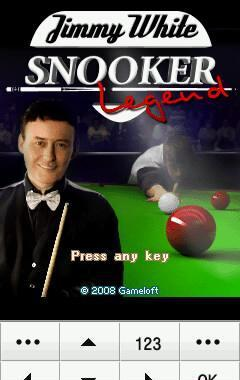 Jimy whithe's Snooker legend