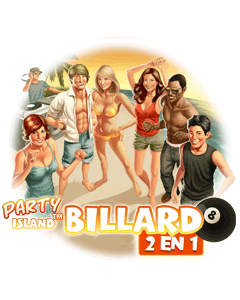 Party Island Billiard 2 in 1
