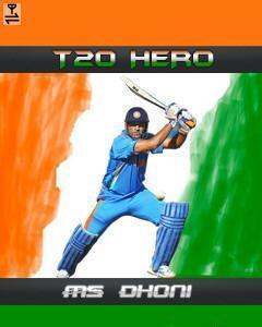 T20 Hero - DHONI