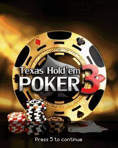 texas holdem poker 3 240x400