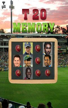 Cricketers Memory Game (240x400)